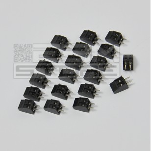 SOTTOCOSTO 20pz morsetti 2 poli passo 2,54mm Morsettiera PCB circuito