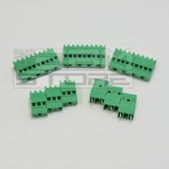 SOTTOCOSTO 5pz morsetti 5 poli H=25mm - da circuito stampato pcb