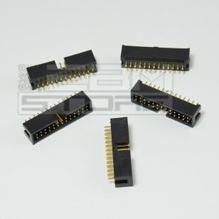 SOTTOCOSTO 5pz connettore IDC 26 poli maschio da pcb - cavo piatto