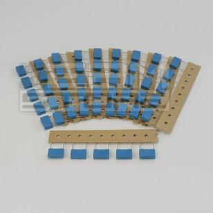 SOTTOCOSTO 50pz condensatore poliestere MKT 0,1uF 450V P=15mm