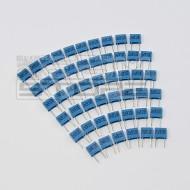 SOTTOCOSTO 50pz condensatore poliestere 2n2 100V
