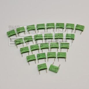 SOTTOCOSTO 25pz condensatore poliestere MKT 2n2 1000V 1KV P=10mm