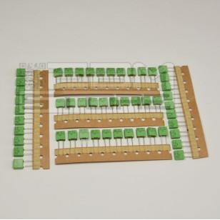 SOTTOCOSTO 50pz condensatore poliestere MKT 0,1uF 250V P=5mm