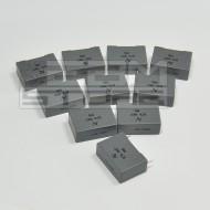 SOTTOCOSTO 10pz Condensatore poliestere 15nF 2000V P=22,5mm