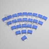 SOTTOCOSTO 25pz condensatore poliestere 100nF 100V P=10mm
