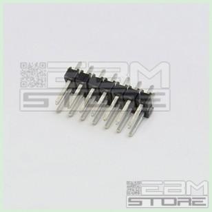 SOTTOCOSTO 50 pz Connettori strip line 2x7 poli maschio