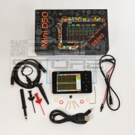 Oscilloscopio MINI DS202 touch  - 2 canali 1 Mhz
