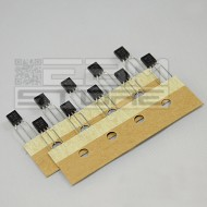10pz BC327 TRANSISTOR PNP 45V 0,5A