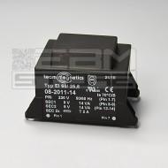 Trasformatore incapsulato 28VA 2x9V