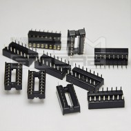 10pz Zoccolo 16 pin per circuiti integrati DIL