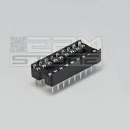 Zoccolo 18 pin per circuiti integrati DIL