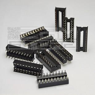 10pz Zoccolo 20 pin per circuiti integrati DIL
