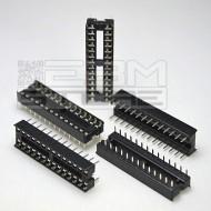 5pz Zoccolo 28 pin per circuiti integrati DIL