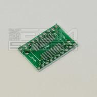 Adattatore TSSOP 20 pin zoccoli integrati