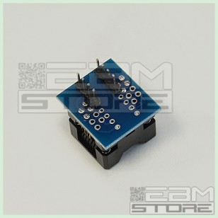 Adattatore ZIF SOIC8 SOP8 pin zoccoli integrati