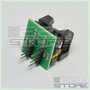 Adattatore ZIF TSSOP 8 pin SMD - zoccoli integrati DIL programming
