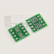 2pz Adattatore SOIC8 - 8 pin zoccoli integrati