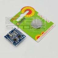 Shield DS 1307 RTC real time clock + memoria I2C Arduino PIC