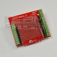 Proto shield / screw shield arduino UNO - adattatore morsettiera