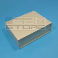 Contenitore 200x155x65 mm - custodia per elettronica in ABS BEIGE