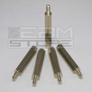 5pz Distanziale metallo M-F M3 30mm