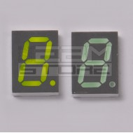Display 7 segmenti VERDE anodo comune HDSP-F501