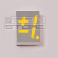 Display +-1 - 7 segmenti giallo catodo comune HDSP-5708