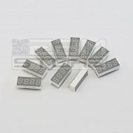 SOTTOCOSTO 10pz display a quattro cifre 7 segmenti anodo comune