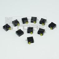 SOTTOCOSTO 10pz portaled da c.s. 90° con led giallo 3mm