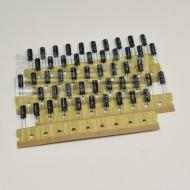 SOTTOCOSTO 50 pz condensatori elettrolitici 47uF 25V 85°