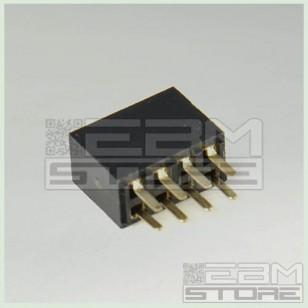 SOTTOCOSTO 50 pz Connettori strip line 2x4 poli femmina