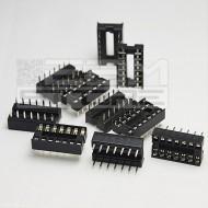 10pz Zoccolo 14 pin per circuiti integrati DIL